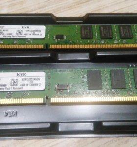 Оперативная память DDR3 2x4GB 1333Mhz