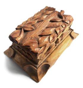 Шкатулка дерево ручная работа