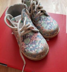 Ботинки для девочки весна-осень