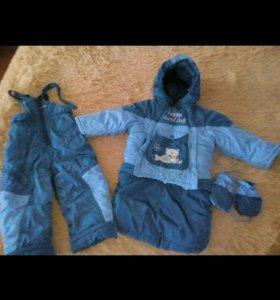 Зимний костюм от 4 мес до 2,5 лет
