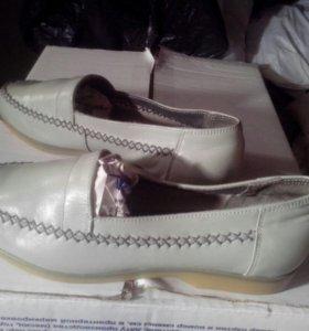 Туфли кожаные женские Цебо р 38