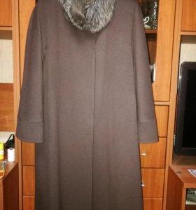 Пальто женское демисезонное, шерсть 100%