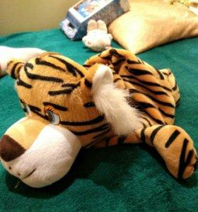 Игрушка сумка тигр.
