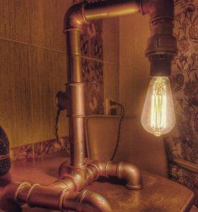 Светильник в стиле лофт loft
