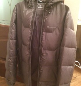 Серая куртка outventure 48 размера