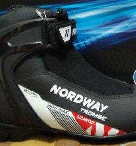Ботинки для беговых лыж Nordway Tromse(НОВЫЕ ! )
