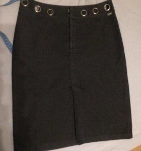 Юбка джинсовая -стрейч 46