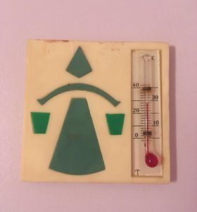 Термометр СССР дачный или домашний вариант