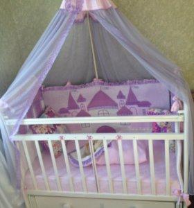 Детская кроватка и комплектующие