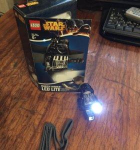 Фонарь для чтения lego Star Wars darth vader
