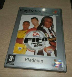 Fifa 2003 PlayStation 2 лицензия