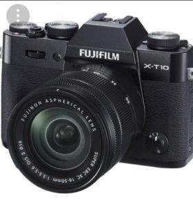 Fujifilm xt10+объектив 16-50