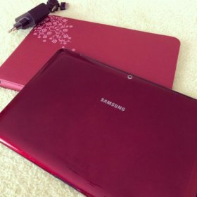 Планшет Samsung Galaxy Tab2, RED