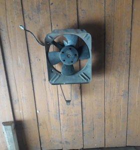 Электрический вентилятор на ваз 2106