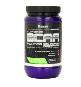 Ultimate Nutrition BCAA Powder 12000 Flavored