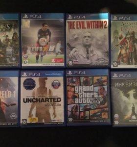 Диски для Sony PS 4
