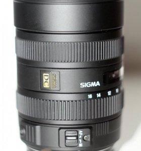 Sigma 8-16 для Canon