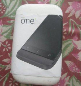 Телефон HTC one v grey