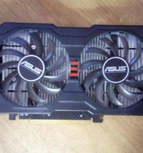 AMD ASUS R7 250X в отличном состоянии