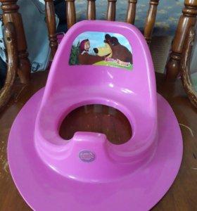 Детское сиденье на унитаз