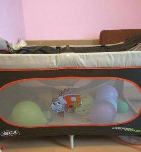 Манеж-кровать Seca happy train