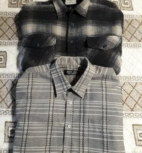Мужс.тёплые рубашки
