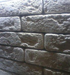 Гипсовый интерьерный камень и кирпич