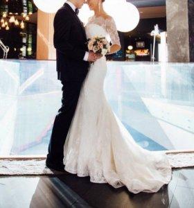 Свадебное платье, фасон: годе