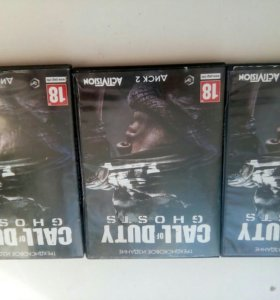 Игра CALL OF DUTY GHOST