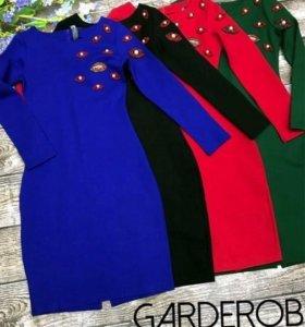 Платье Италия Чёрное