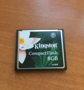CompactFlash Kingston 8gb