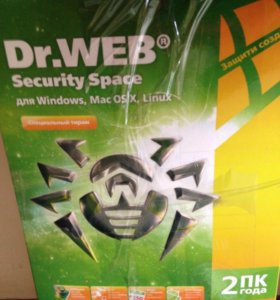 Антивирус Доктор веб Security Space