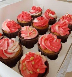 Домашние Десерты,капкейки,торты на заказ