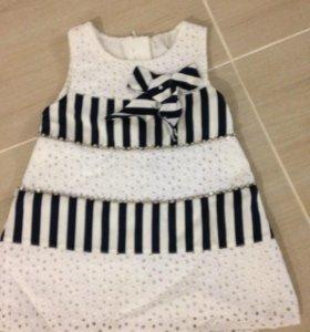 Платье морячка