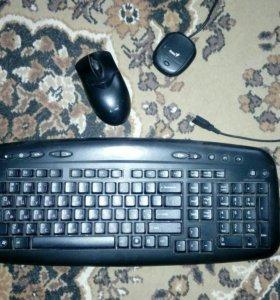 мышь и клавиатура genius беспроводные