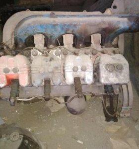 Двигатель на Т-40