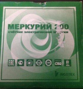 Счетчик электроэнергии Меркурий 200 новый