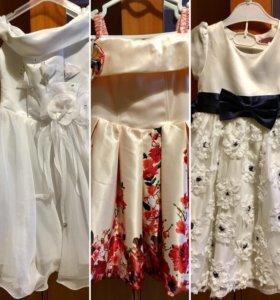Детская платья с 3 до 5 лет цена 300,500,800