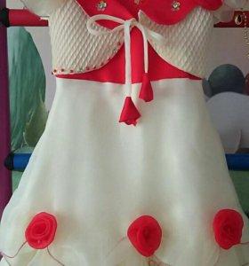 Платье нарядное 110-124