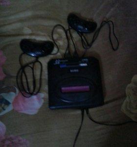 Sega Driver и телевизор