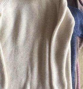 Вязанные туники платье