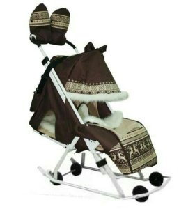 Санки-коляска/Санки