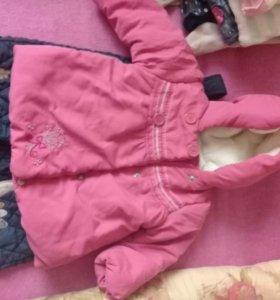 Зимняя куртка и брюки