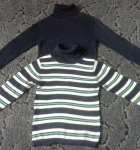 Водолазки -свитерки детские раз 110