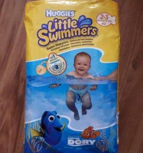 Памперсы для плавания HUGGIES 3-8 кг