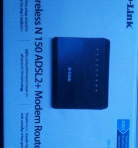 Маршрутизатор D-link Wireless N 150 ADSL2