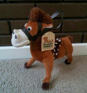 игрушка звуковая лошадь