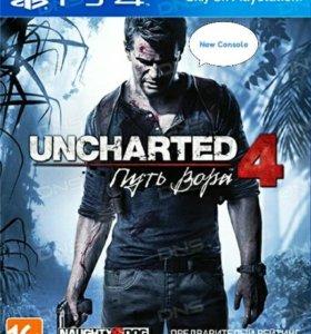 Игра Uncharted 4: Путь вора для PS4