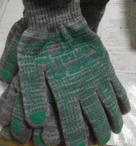 Перчатки рабочие утеплённые