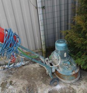Шлифовальная машинка по бетону